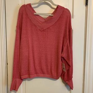 Free People Women South Side Thermal, Size S, NWT